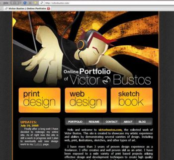 2008 Victor bustos website