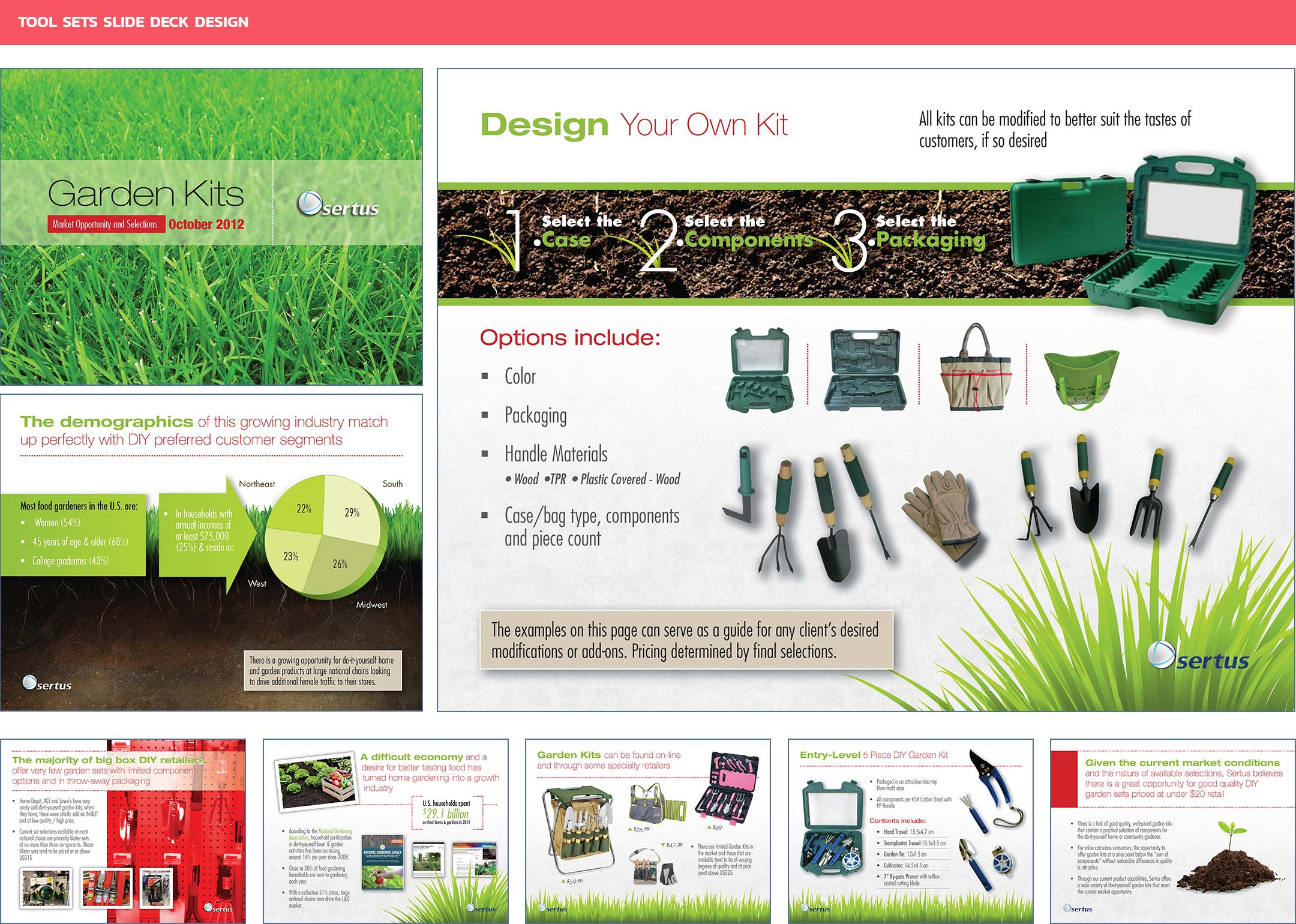 Garden Kit Slide Deck Design