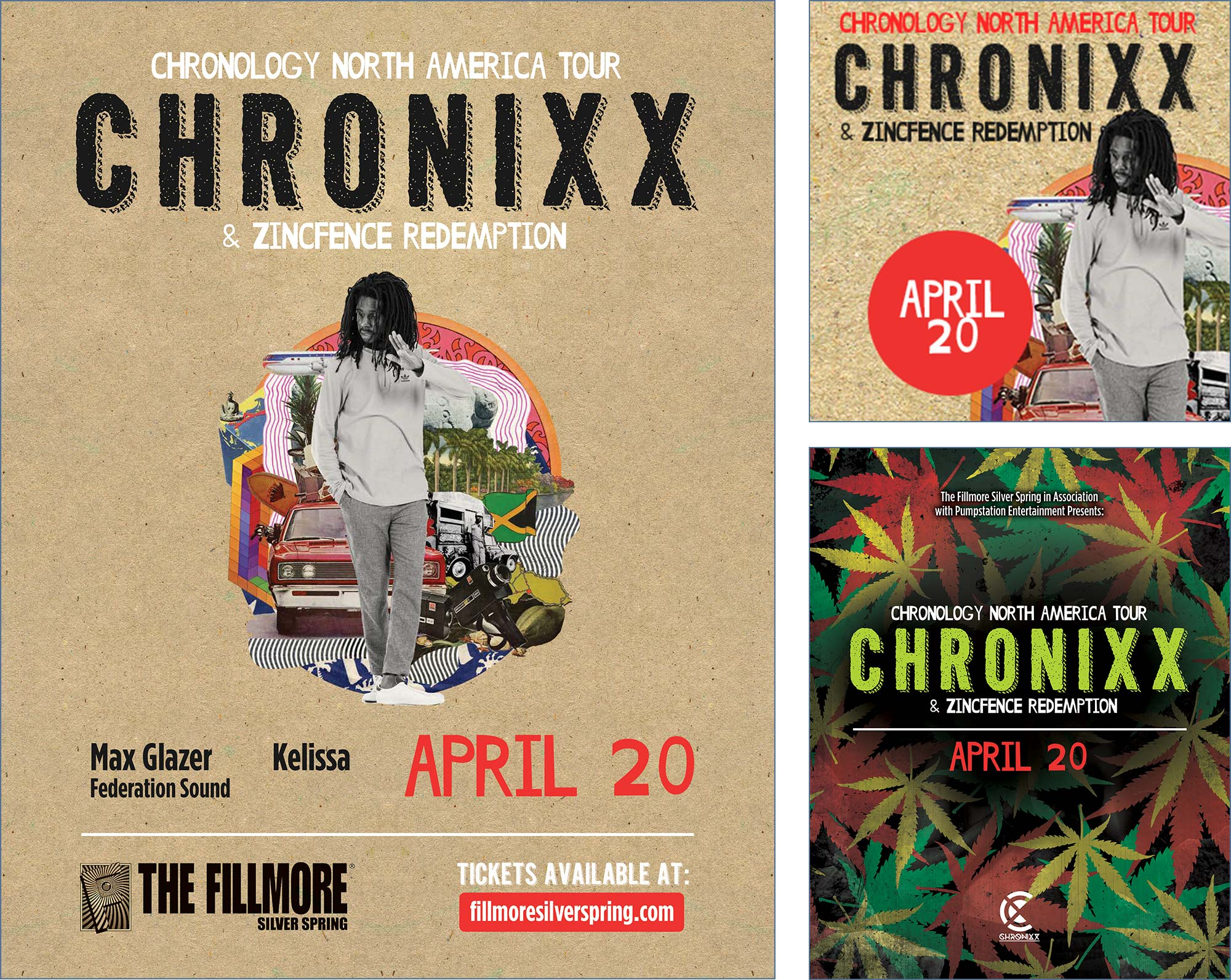 Chronixx Flyer Design