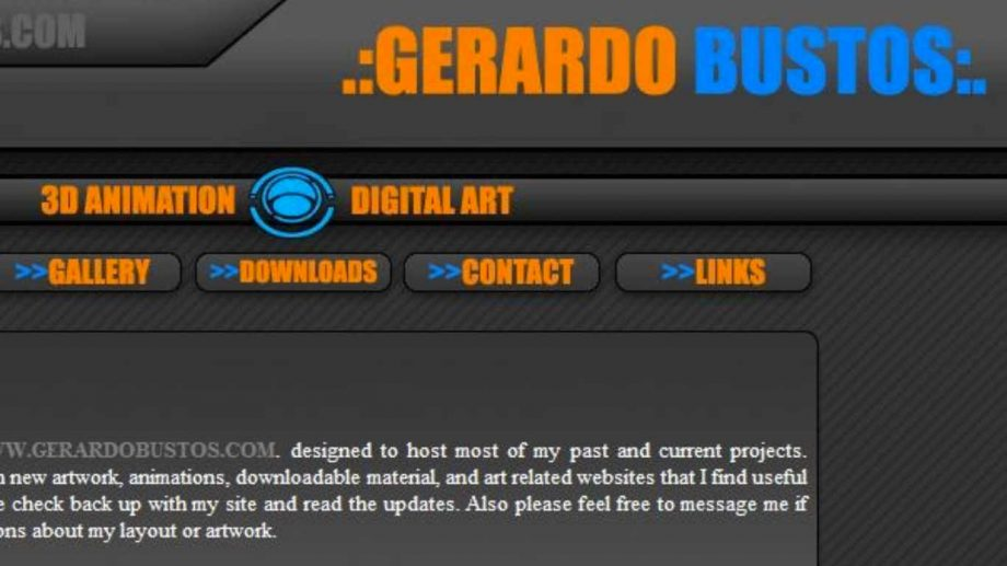 2008 Gerardo Bustos website
