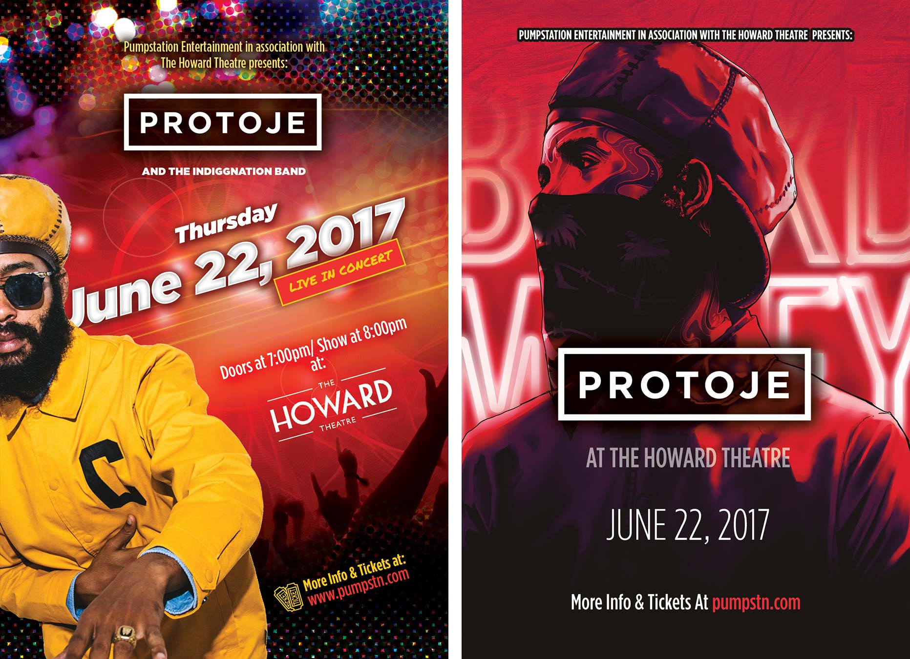 Protoje flyer design
